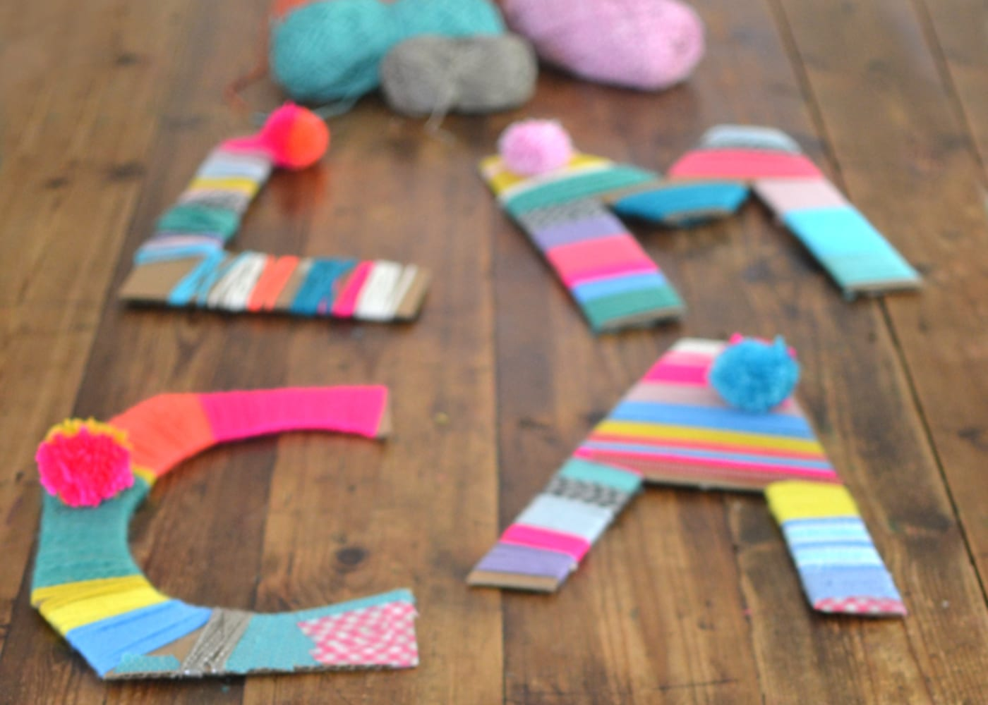 craft wool cardboard kids