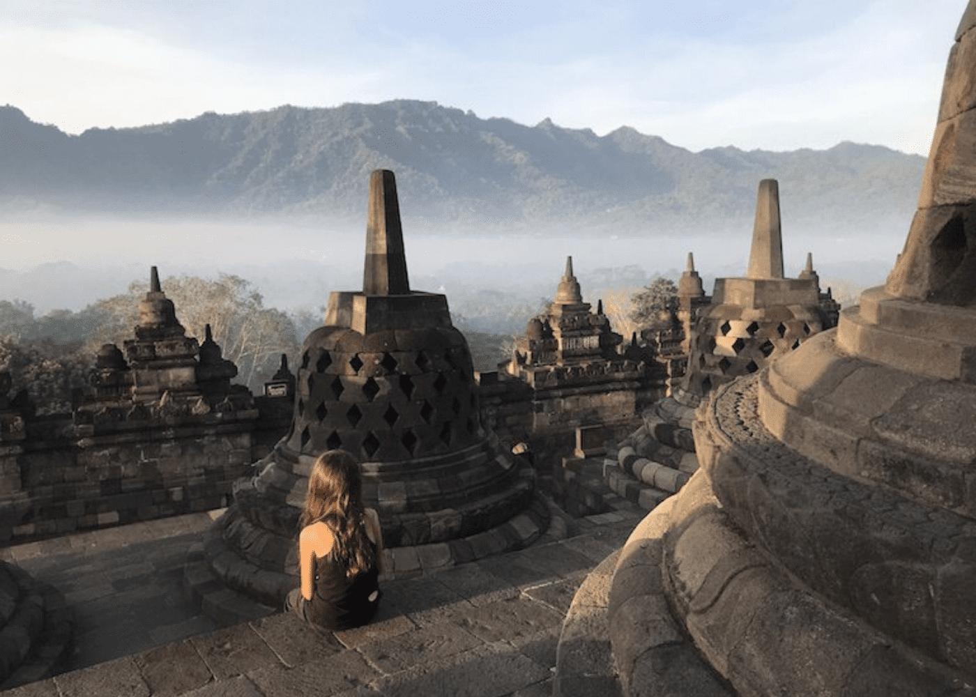 Vesak Day | Borobudur temple