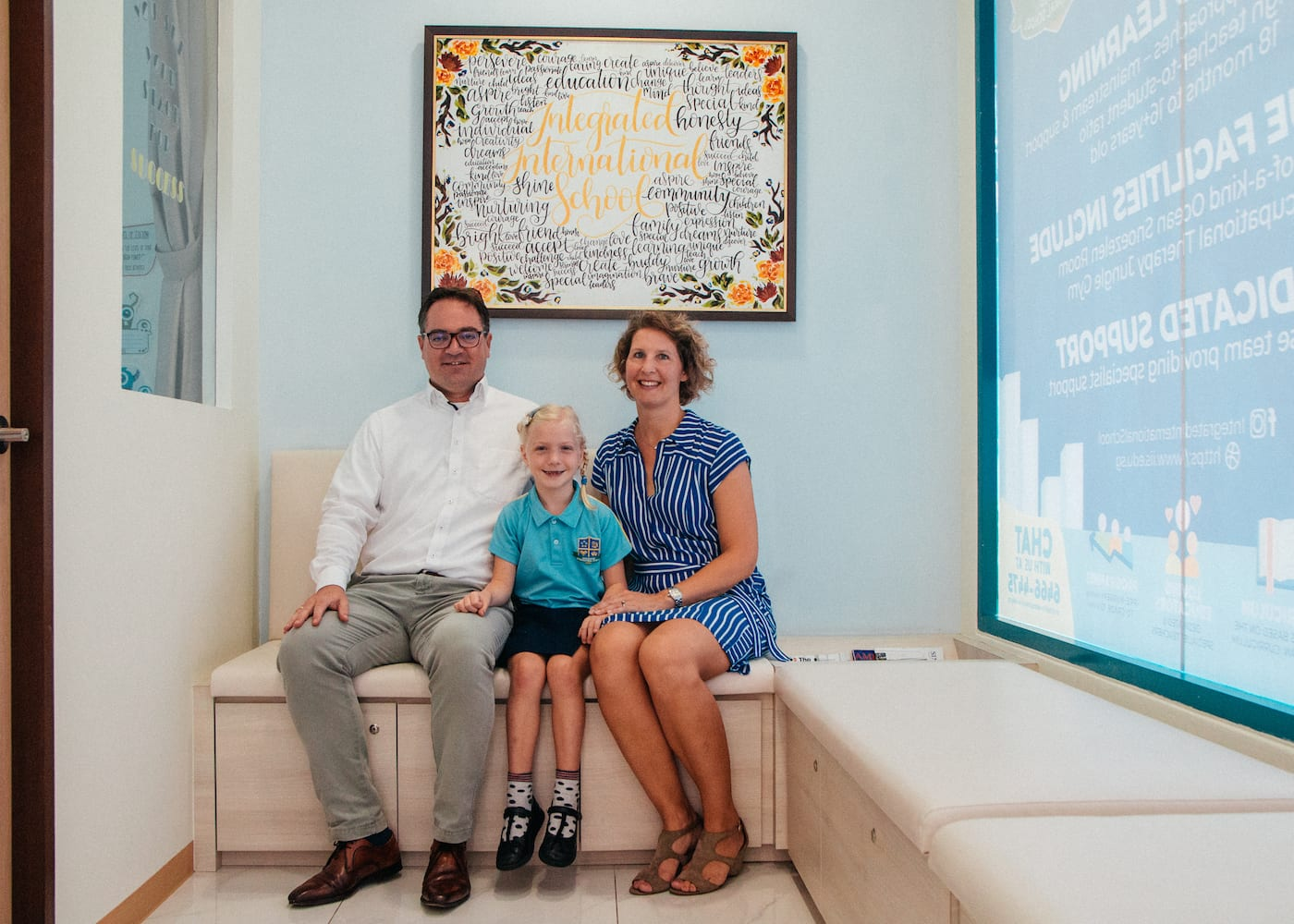 Here's why The Goudriaan family love the Integrated International School