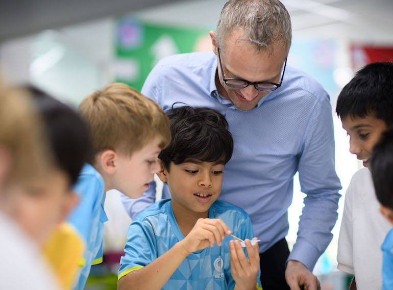 VIDEO: Here's what really goes on in Nexus International School's open classrooms
