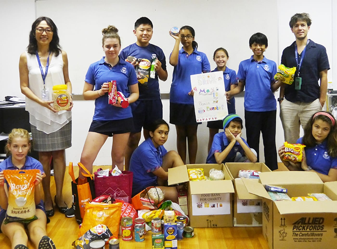 This is how students at Chatsworth International School give back to the community