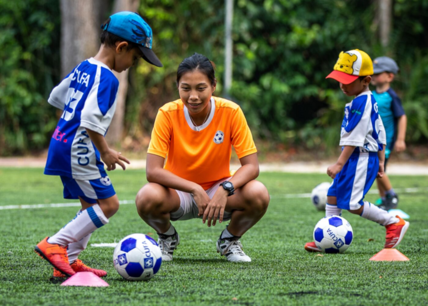 camps for kids singapore cufa