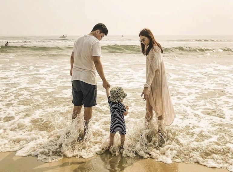 Beach   Explore Da Nang and Hoi An, Vietnam with a toddler