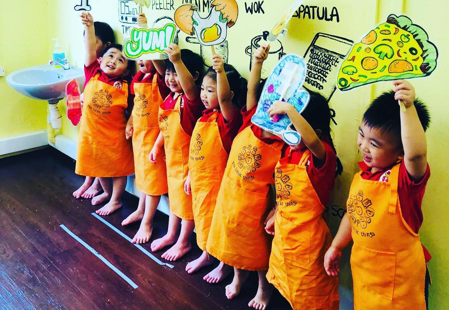 kids cooking school singapore the little things
