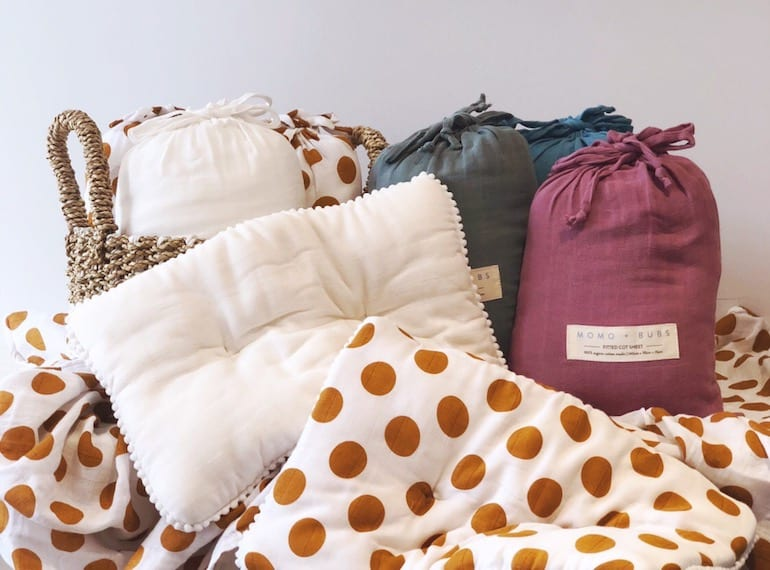 Find of the week: MOMO + BUBS is the baby bed linen of our dreams
