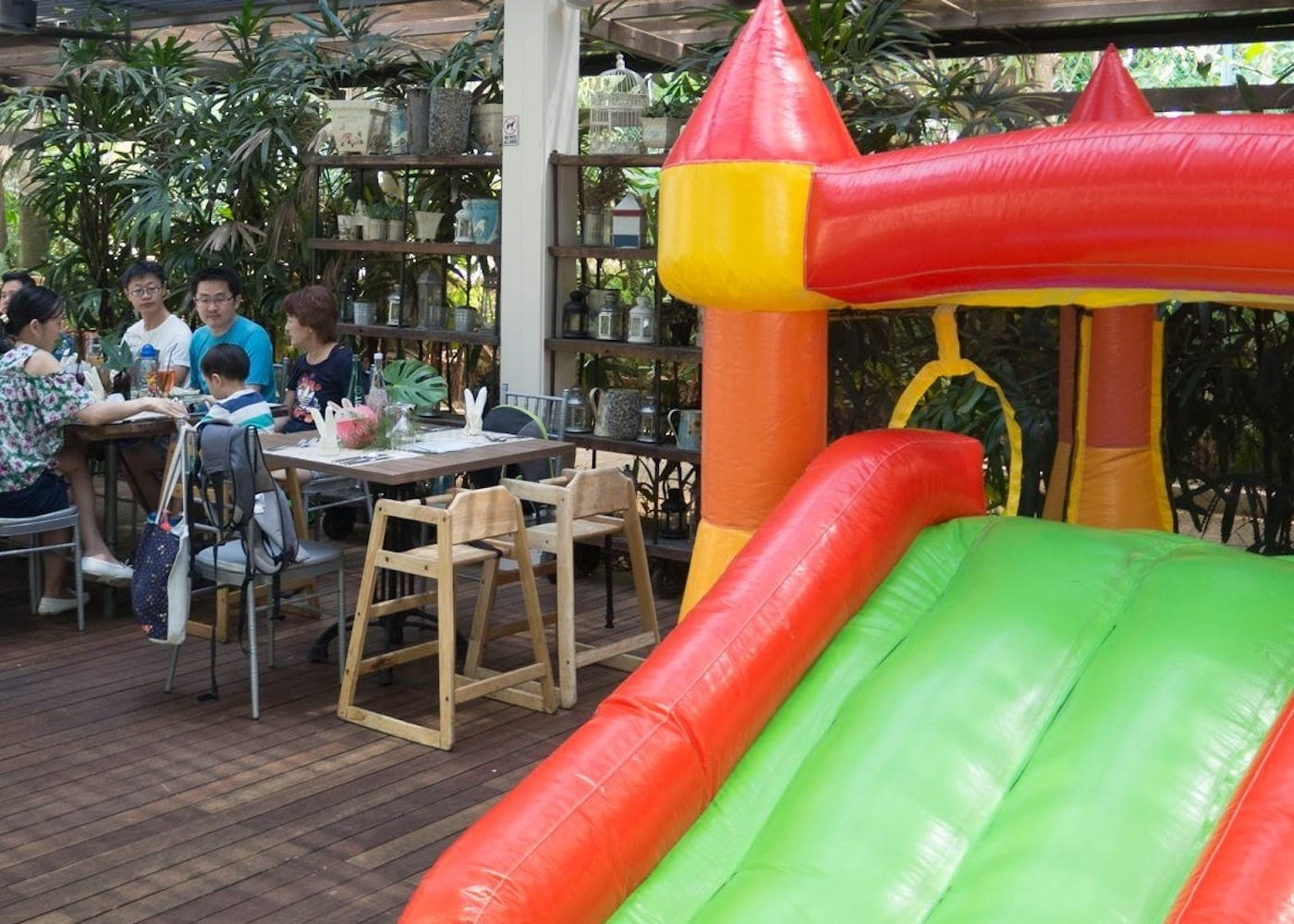 kid friendly restaurant the vineyard singapore