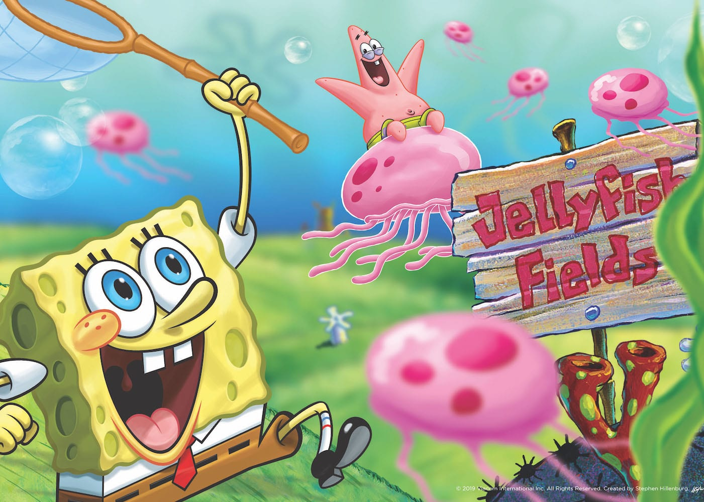 Nickelodeon's SpongeBob SquarePants 20th birthday Singtel