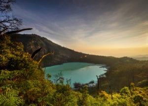Kawah Putih Crater near Bandung