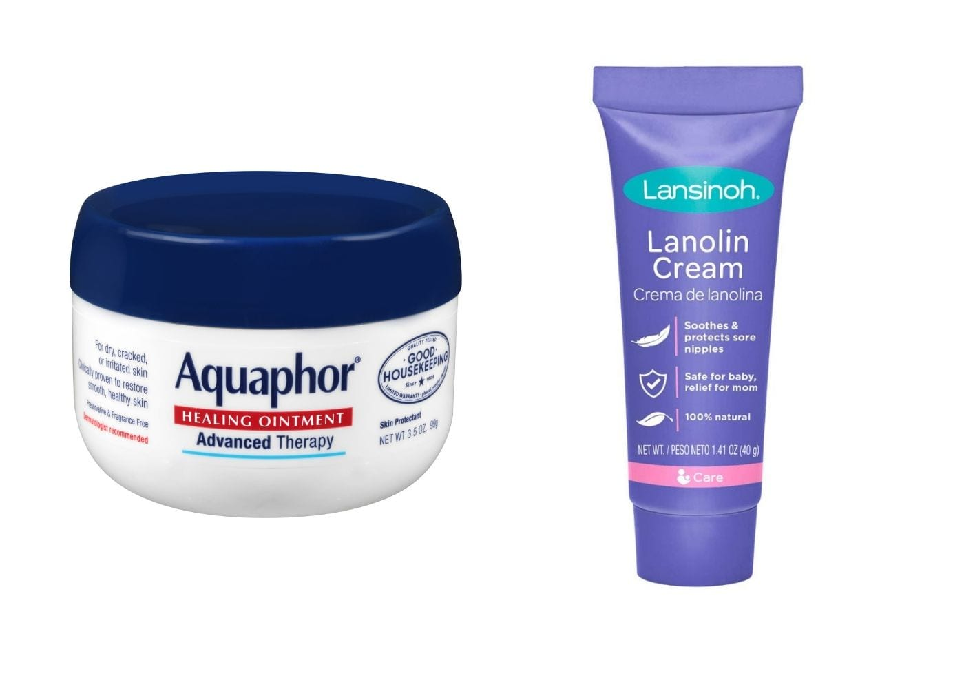 Beauty Products I Can Borrow From My Baby: Aquaphor and Lanolin Nipple Cream