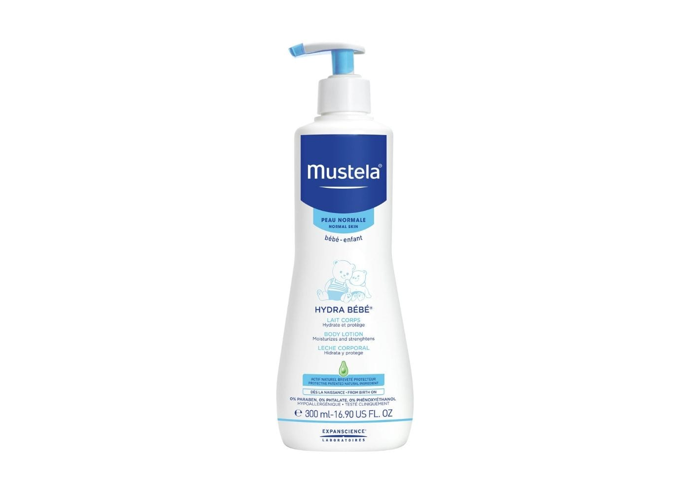Beauty Products I Can Borrow From My Baby: Mustela's Baby Lotion