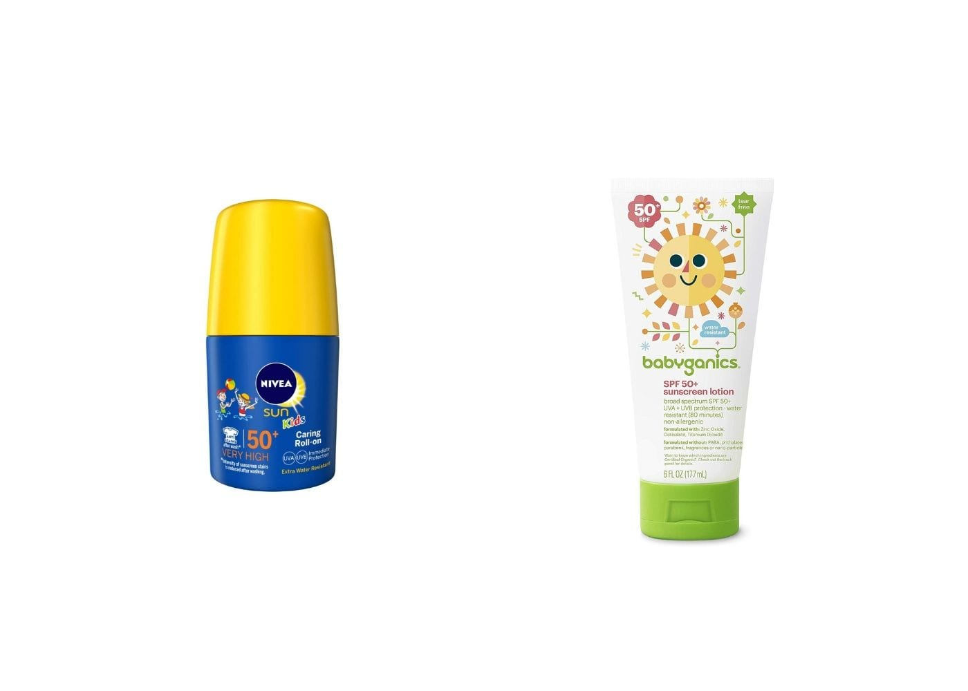 Beauty Products I Can Borrow From My Baby: Sunscreen from Nivea and Babyganics