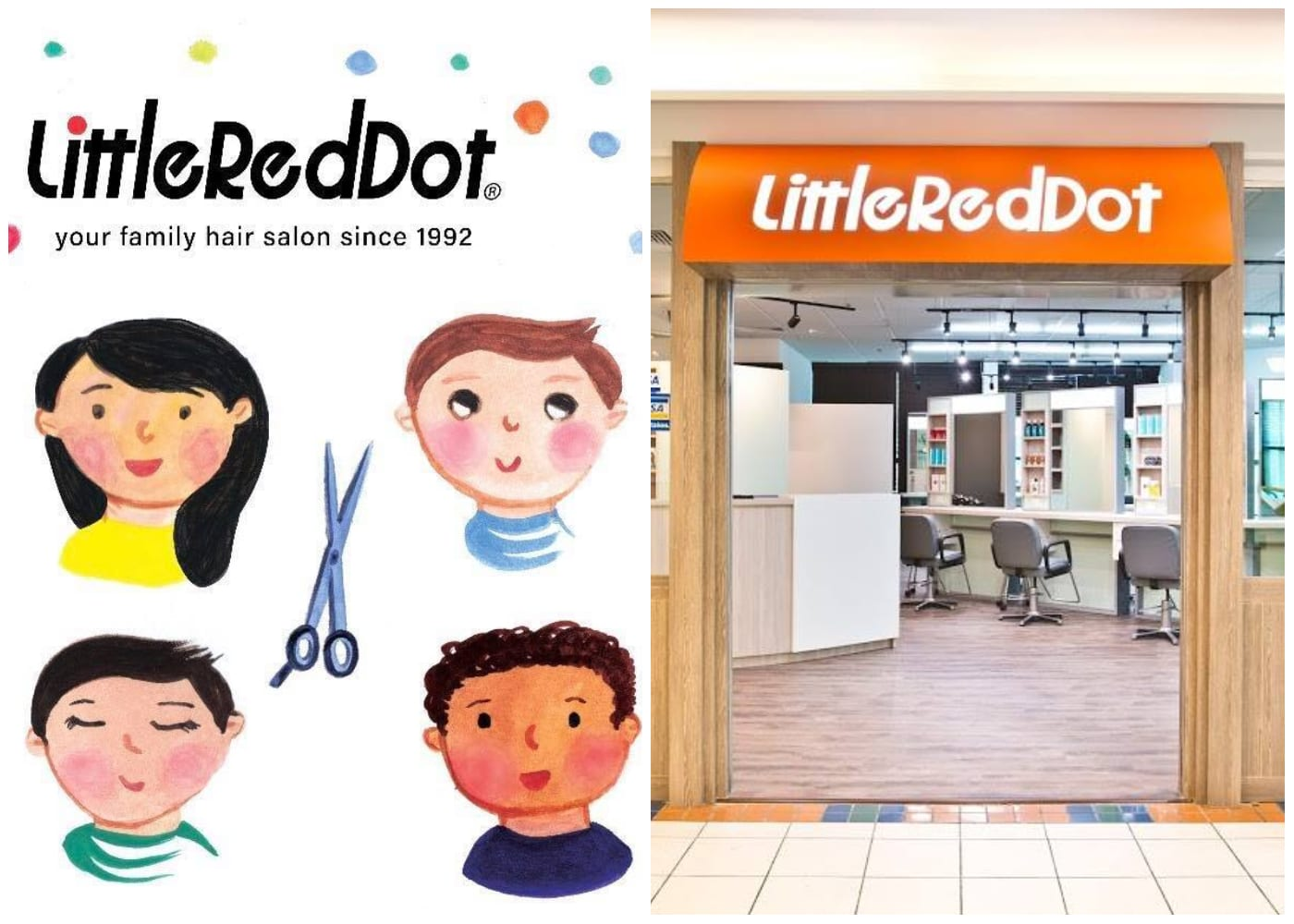 Little Red Dot | hair salons for kids in Singapore