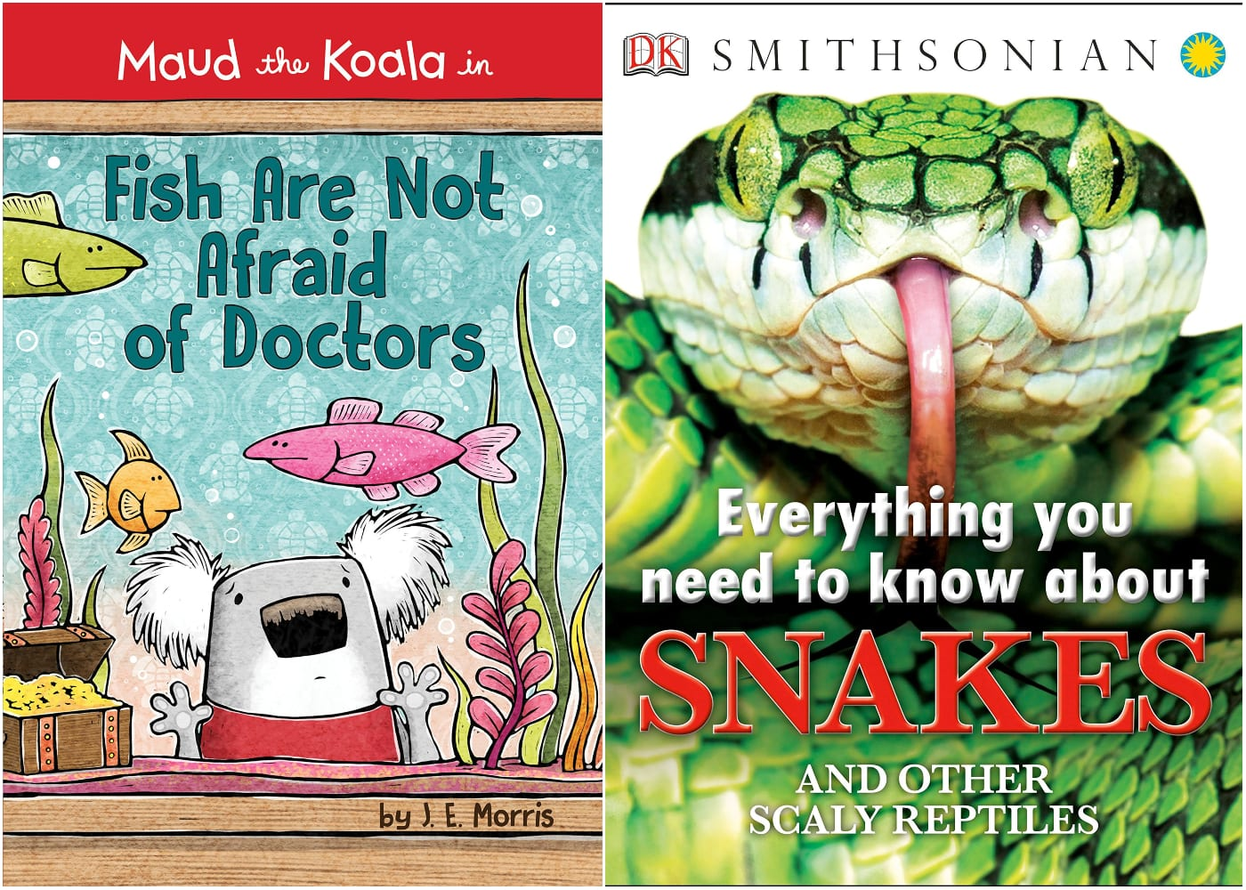 children's books about facing fears doctors snakes