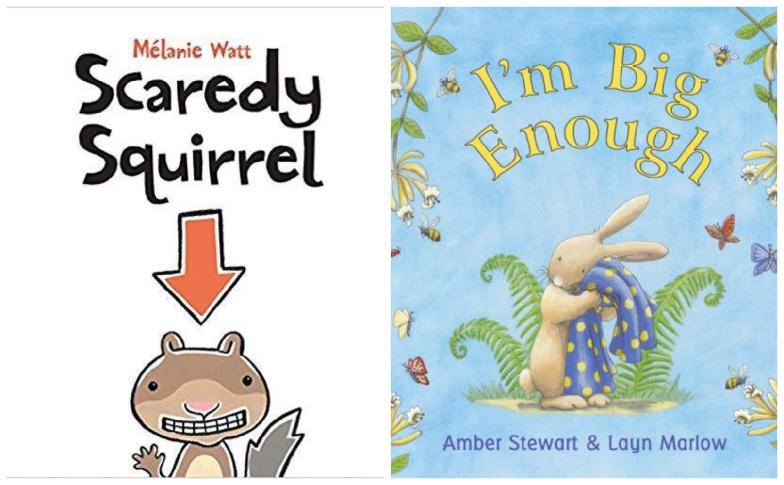 children can face their fears with these books