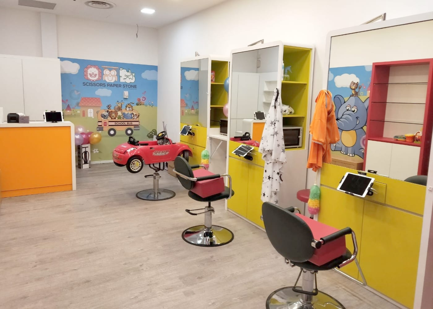 Scissors Paper Stone | kids hair salons in Singapore