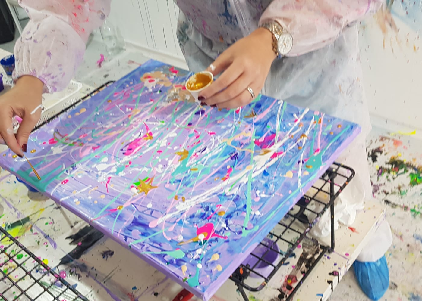 Find of the week: At Splat Paint House, kids can unleash their inner artist, get painting and get messy (and the clean-up isn't on you!)