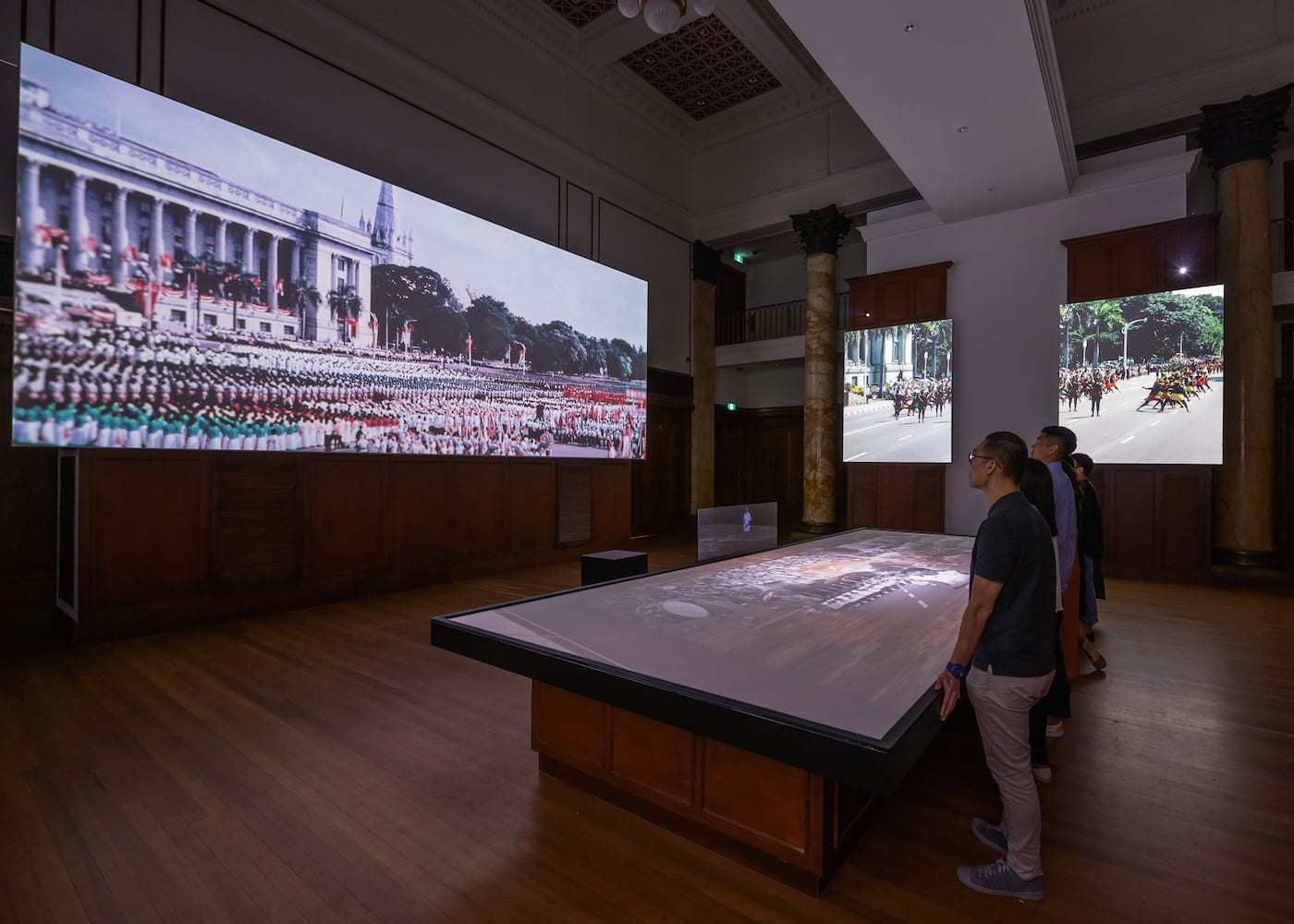 Museums and Exhibits in Singapore: City Hall If Walls Could Talk at National Gallery