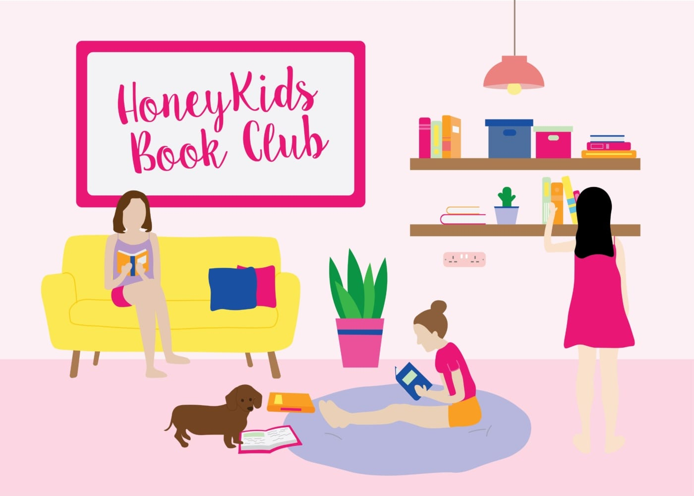 Hey bookworms, HoneyKids is launching a Book Club!
