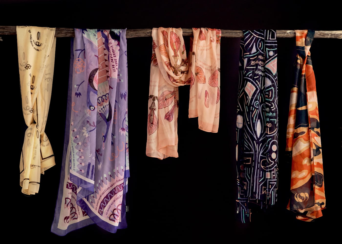 Find of the week: Hagar Singapore scarves that shine a light on human trafficking