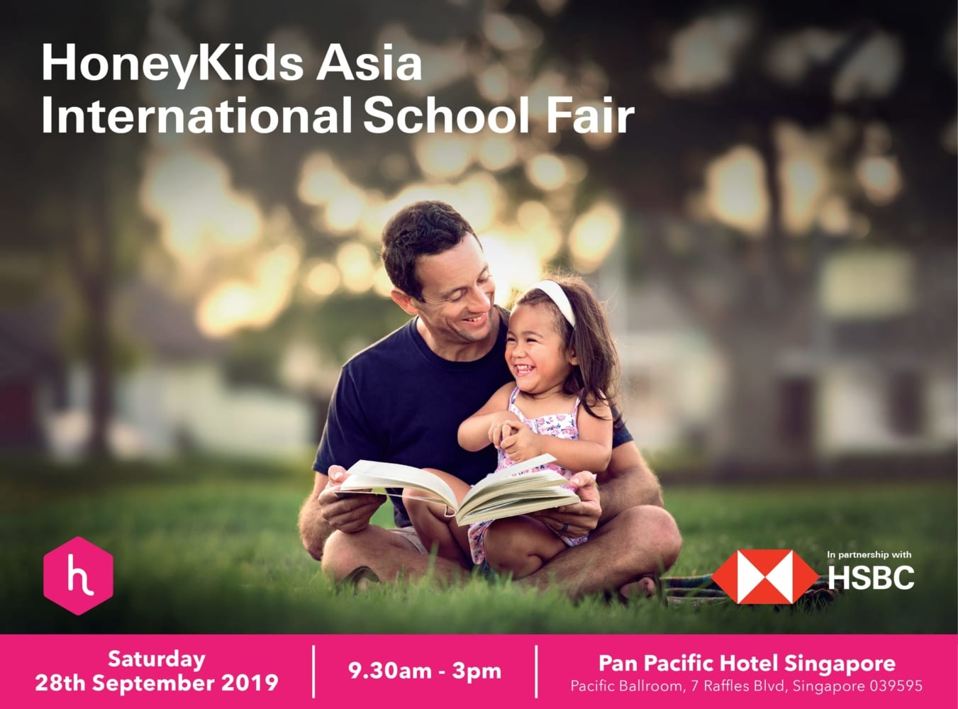 Event Day Registration: HoneyKids Asia International School Fair with HSBC