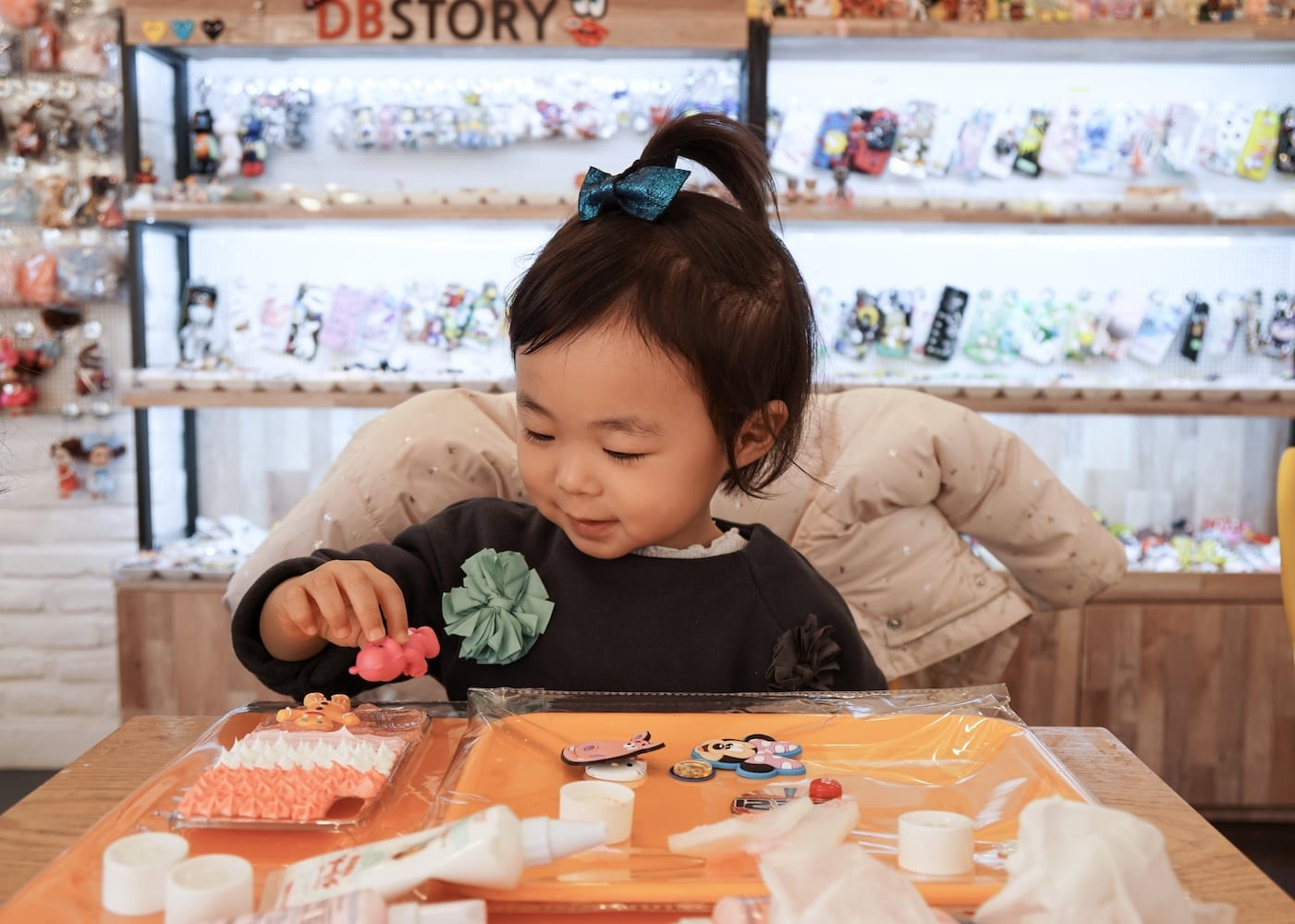 Kid-friendly things to do in Seoul: DB Story Cafe