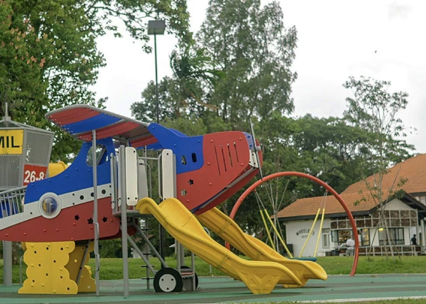Seletar Aeorspace Park | Best playgrounds and parks in Singapore for kids of all ages