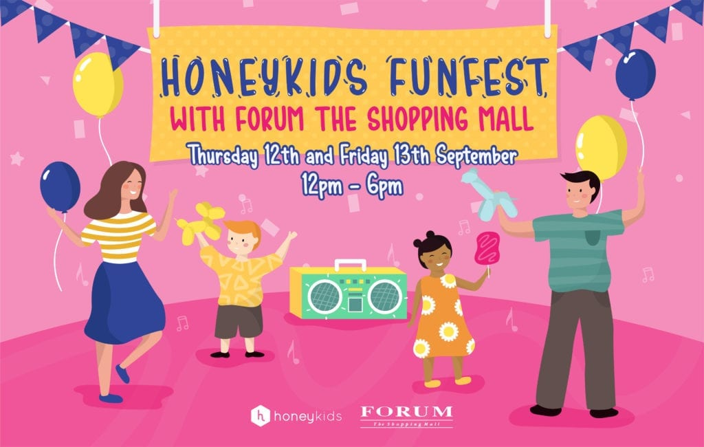 HoneyKids FunFest x Forum The Shopping Mall
