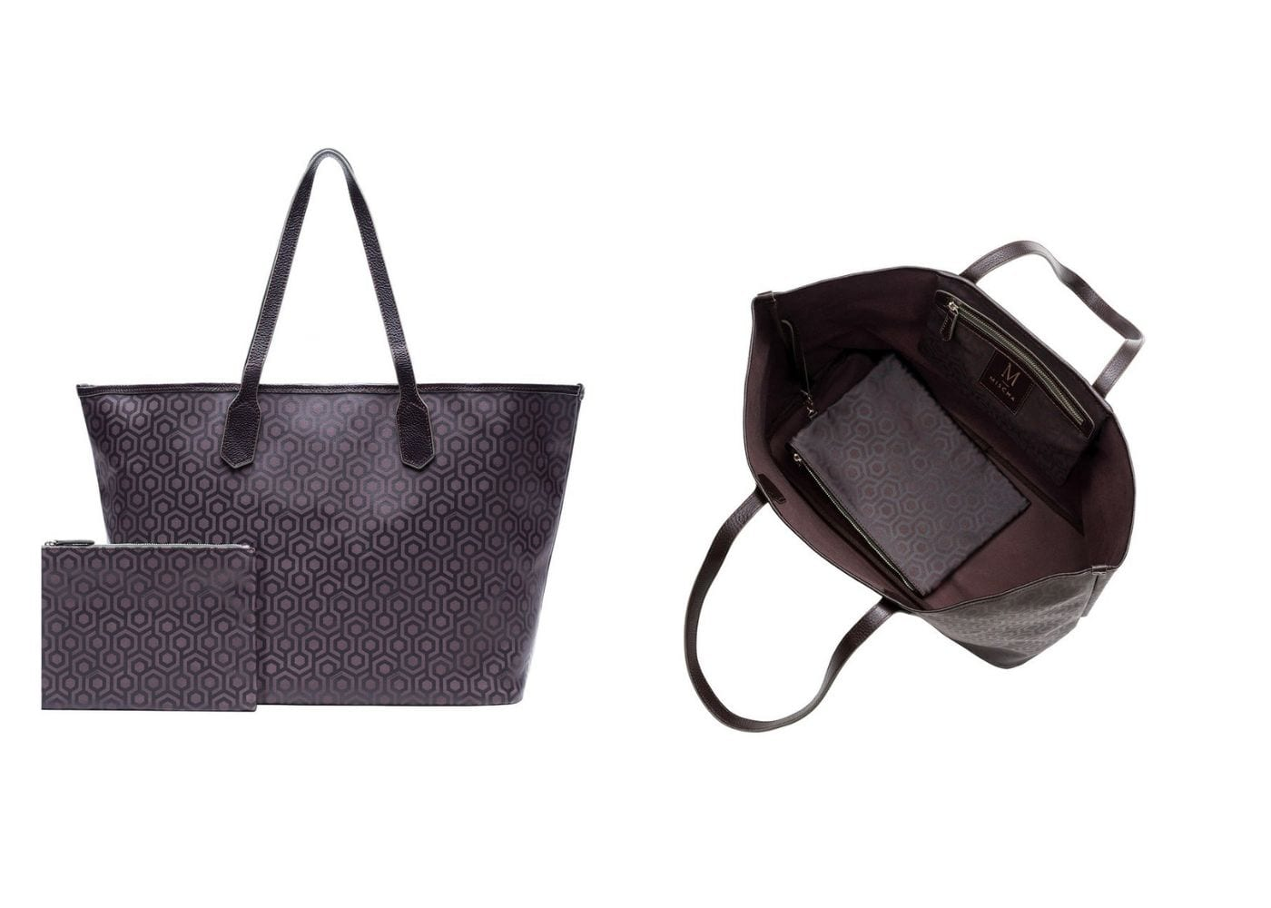 Stylish Diaper Bags: Mischa Designs Jet Set Tote