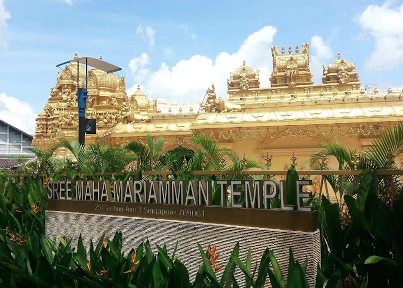 Singapore Temples: Sree Maha Mariamman Temple