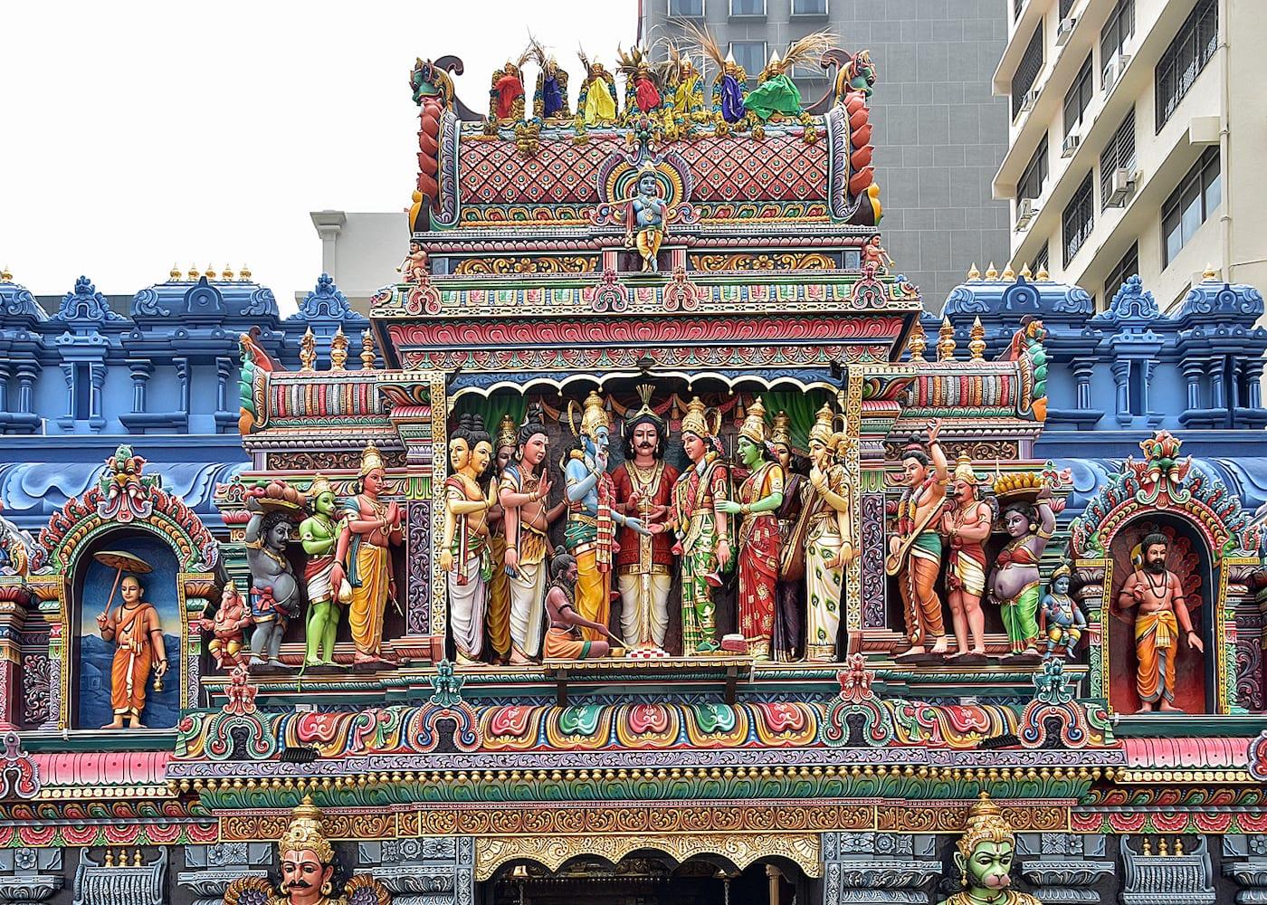 Singapore Temples: Sri Krishna Bagawan Temple