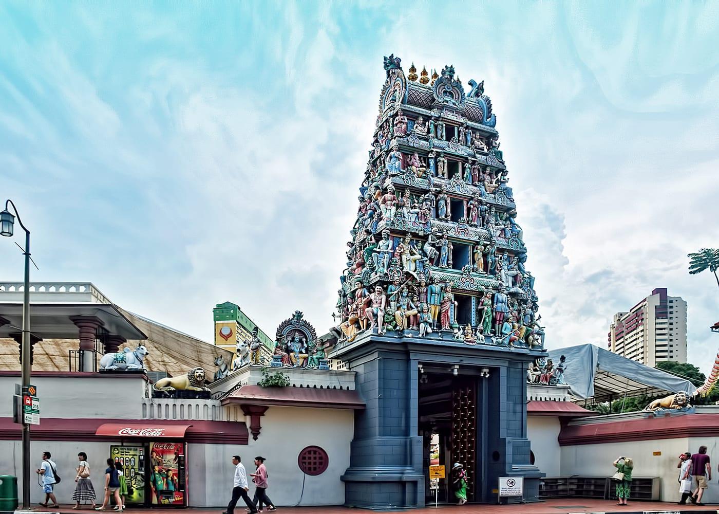 Singapore Temples: Sri Mariamman Temple