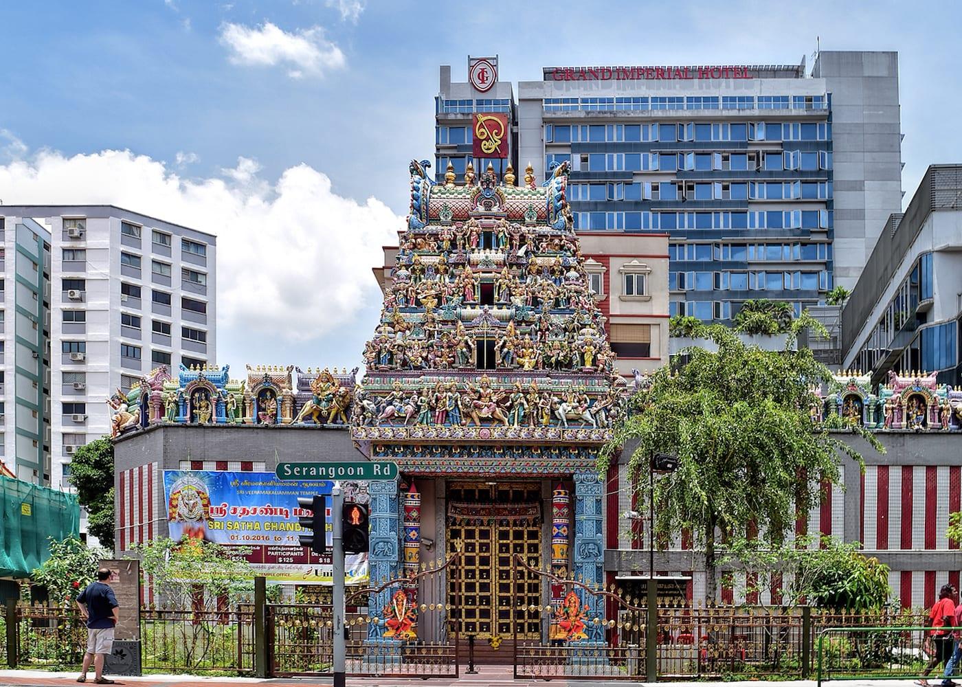 Singapore Temples: Sri Veeramakaliamman Temple