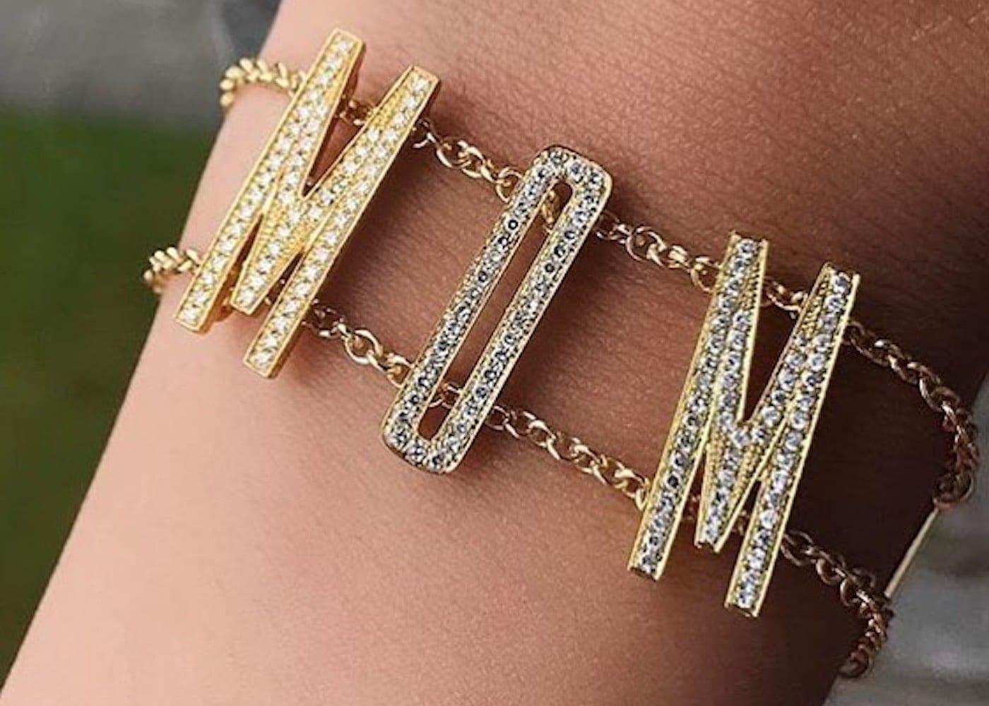 Initial bracelet from Oly + Pie