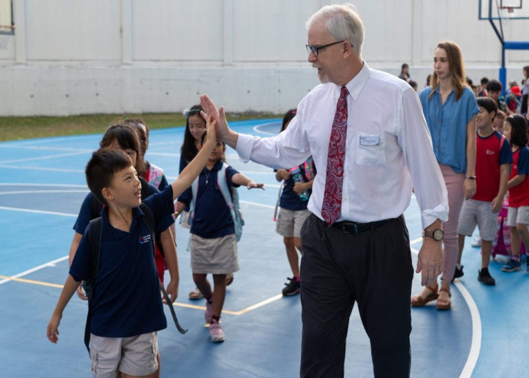 Discover how Dr. J. P. Rader, International Community School's new director, is cultivating a love for learning