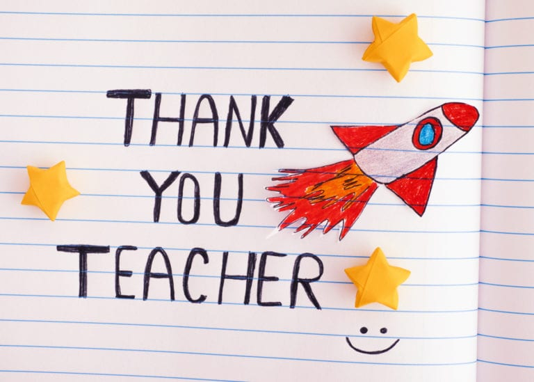 Happy Teachers' Day: thank you to our children's educators for being truly awesome