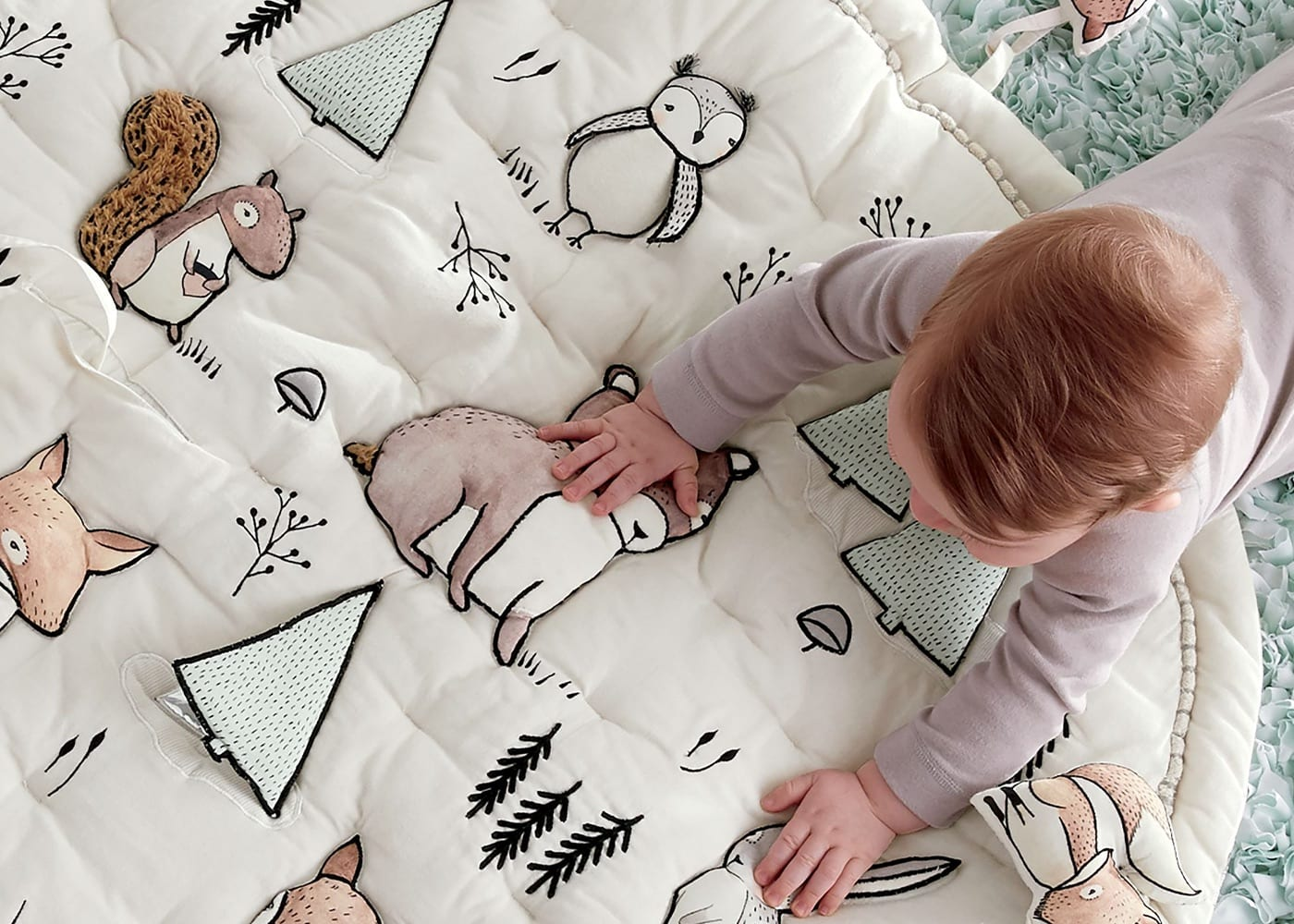 Crate and Barrel's kids' line is giving us major heart eyes