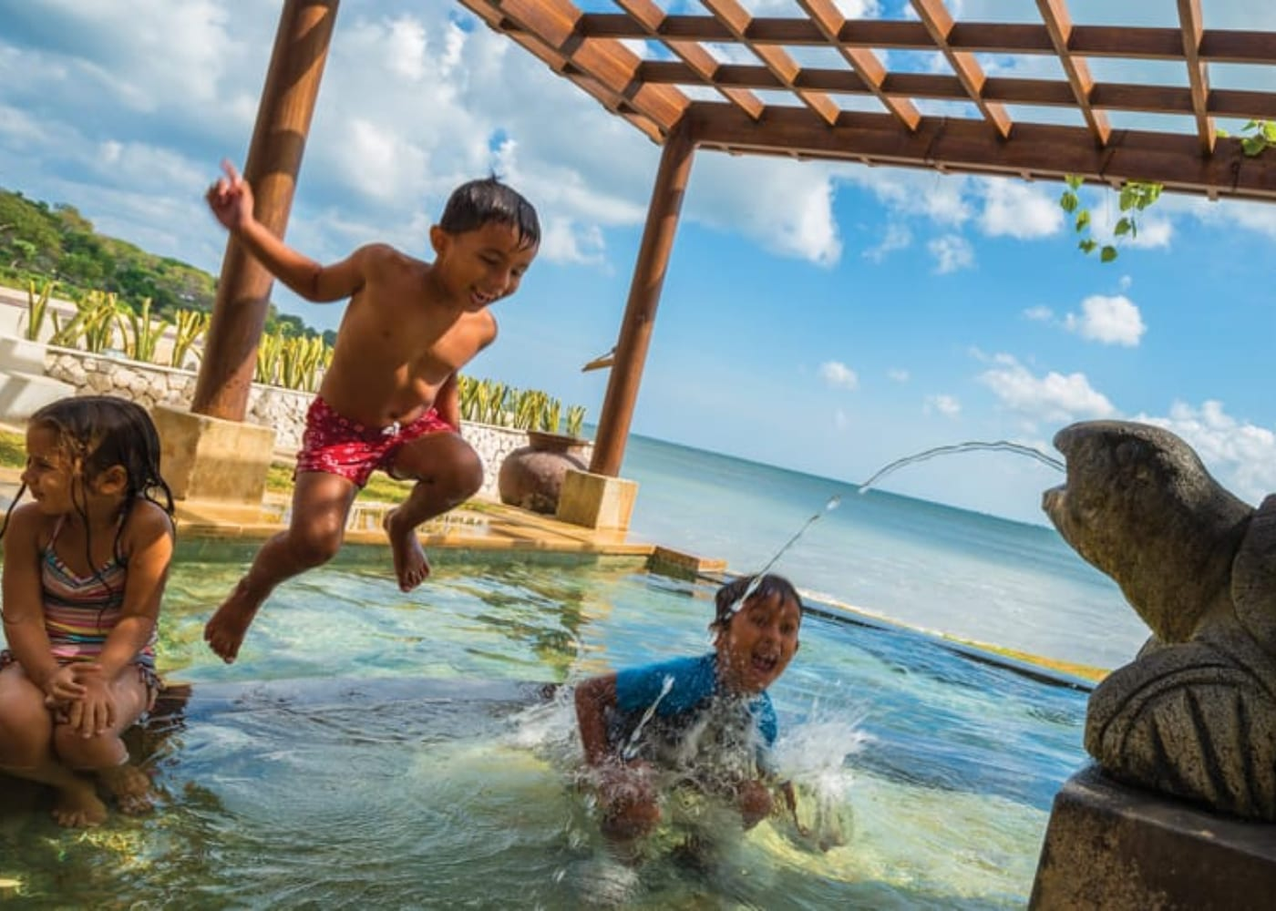 Four Seasons Resort Bali at Jimbaran Bay | luxury hotels for families