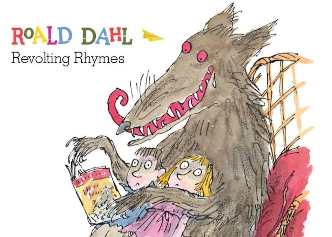 revolting-rhymes roald dahl day children's books