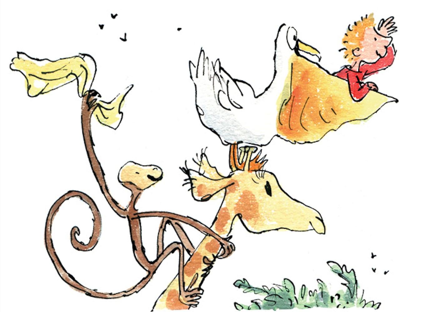 roald dahl books giraffe and the pelly