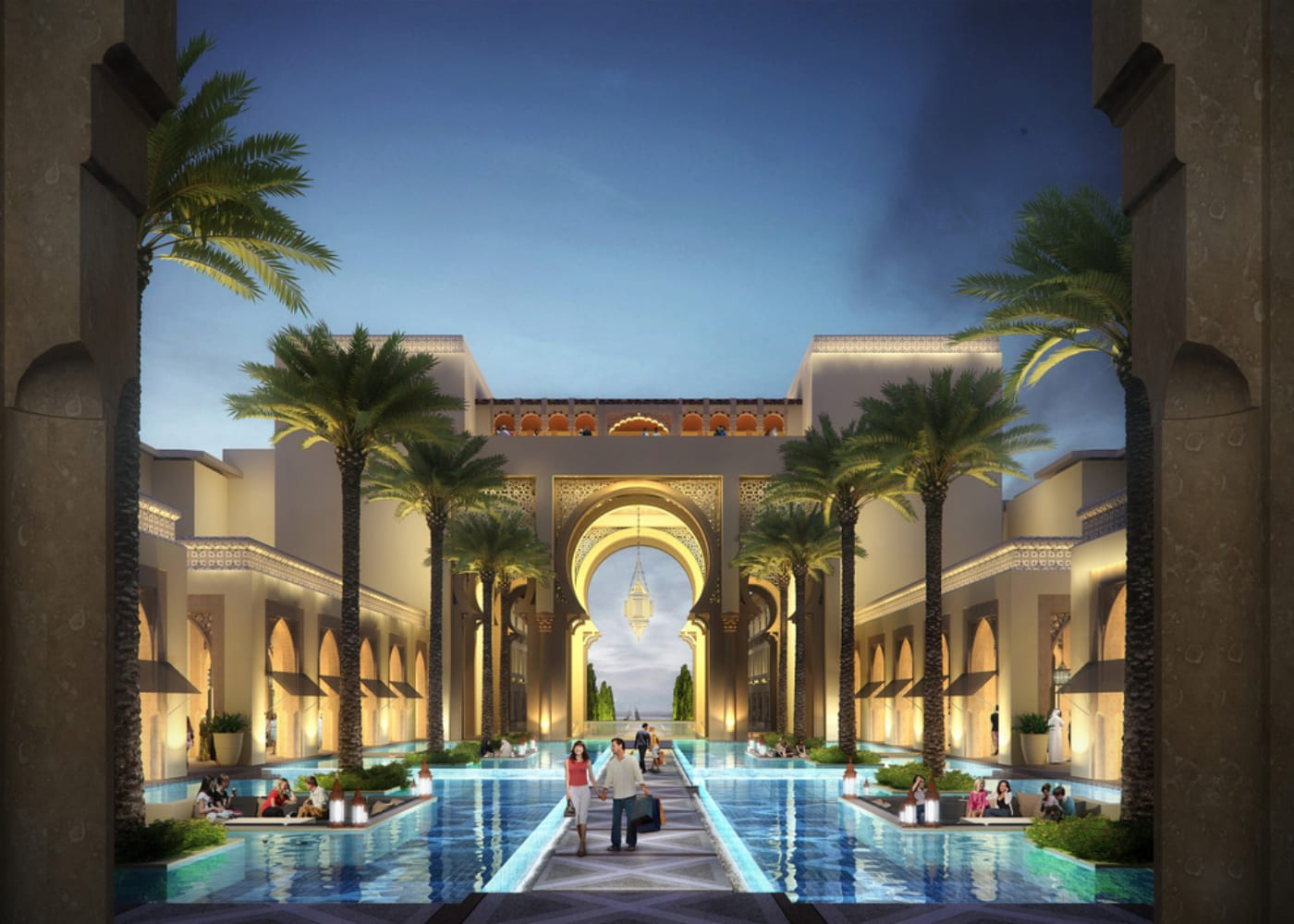 Rixos Saadiyat Island, Abu Dhabi, UAE | luxury family friendly hotels