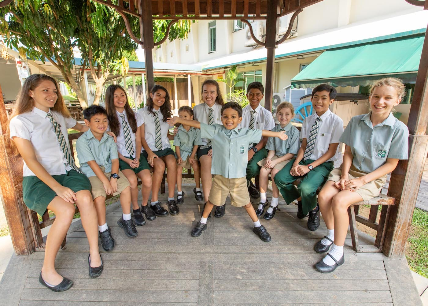 Class size in international schools in Singapore: SJII