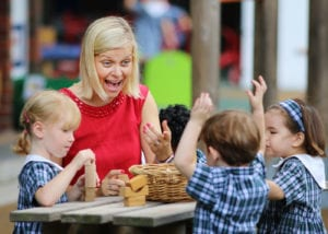 A nursery open morning at Tanglin Trust School