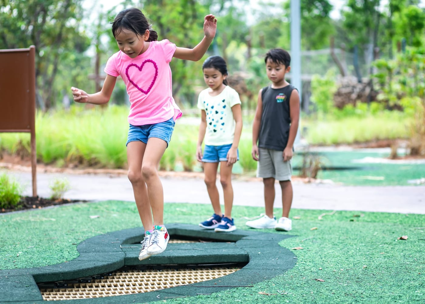 Jurong Lakeside Garden with kids