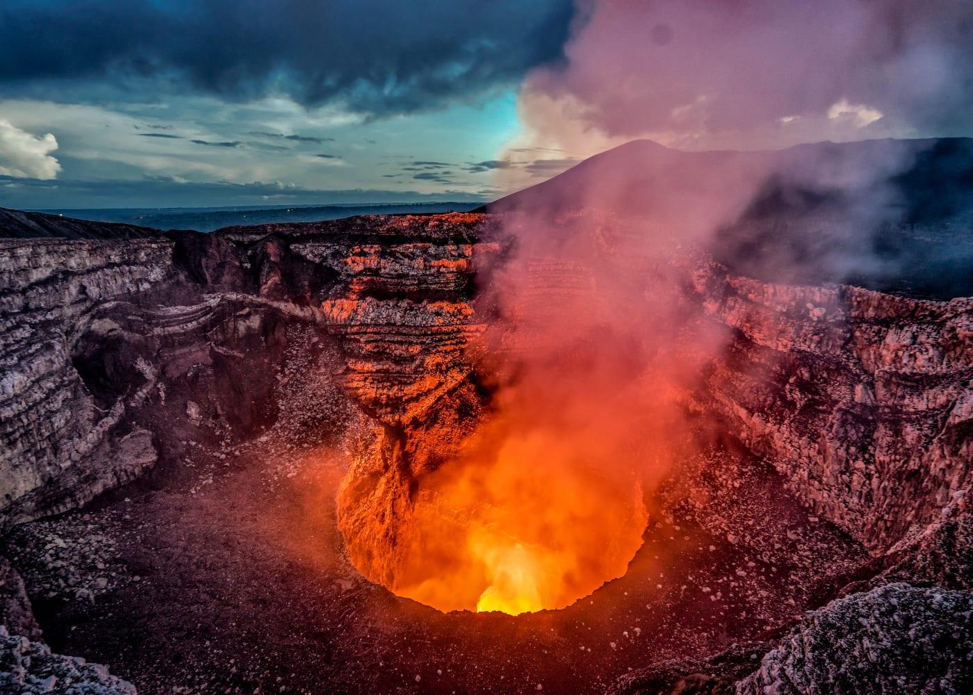 volcano erupting postpartum rage