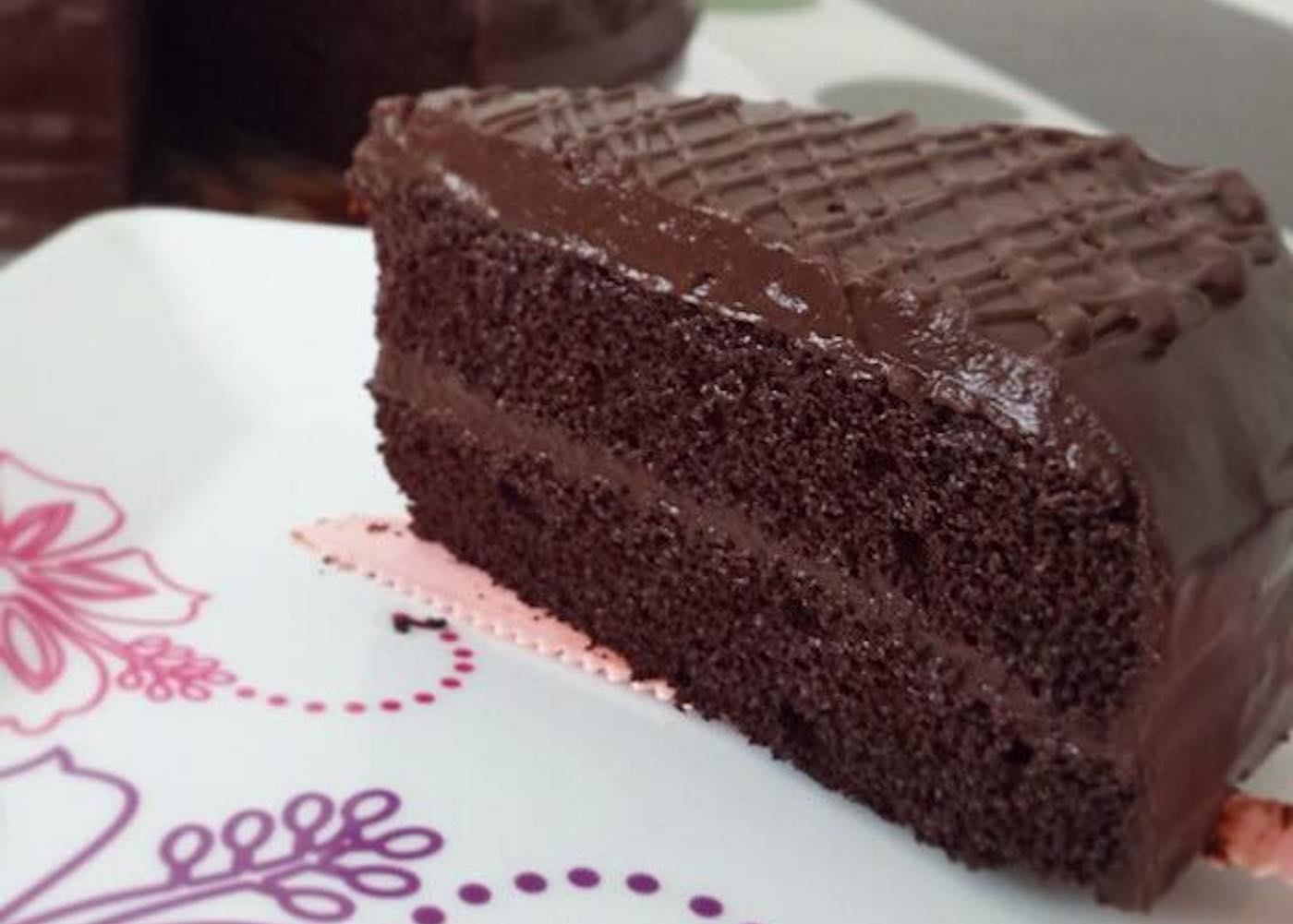 Singapore Best Chocolate Cakes: Jane's Cake Station Chocolate Fudge Cake