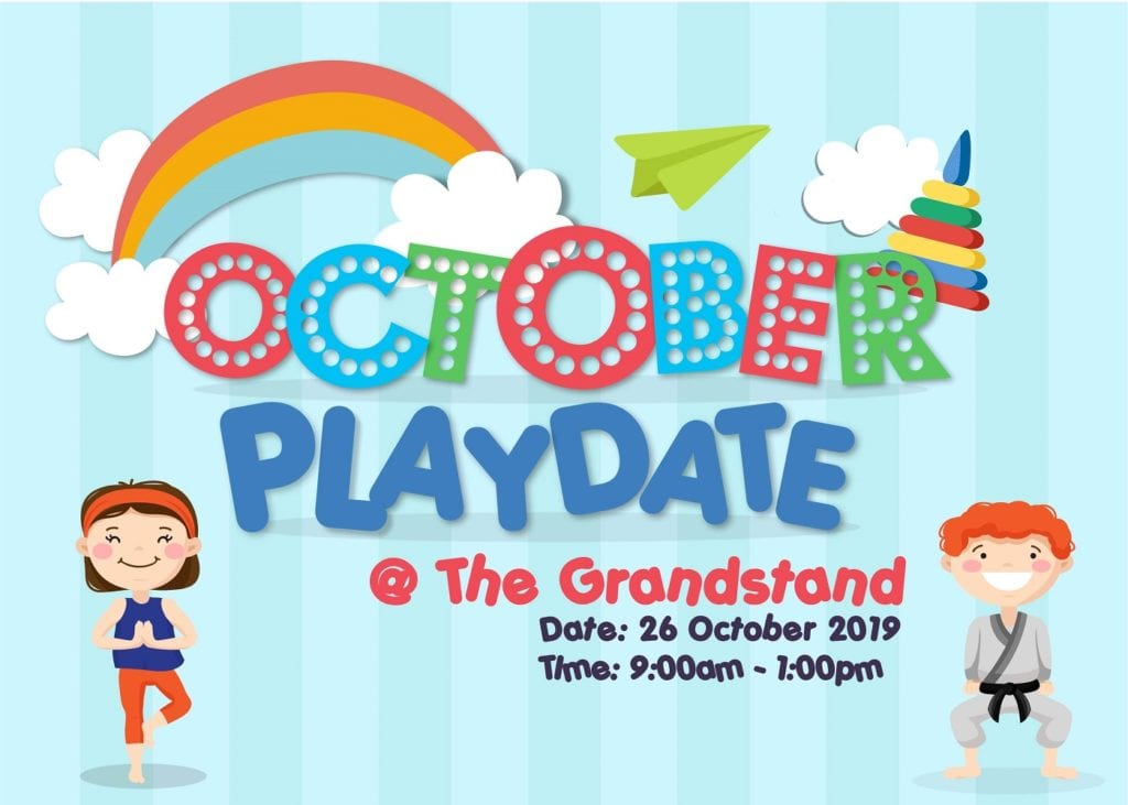 October Playdate 2019 at The Grandstand