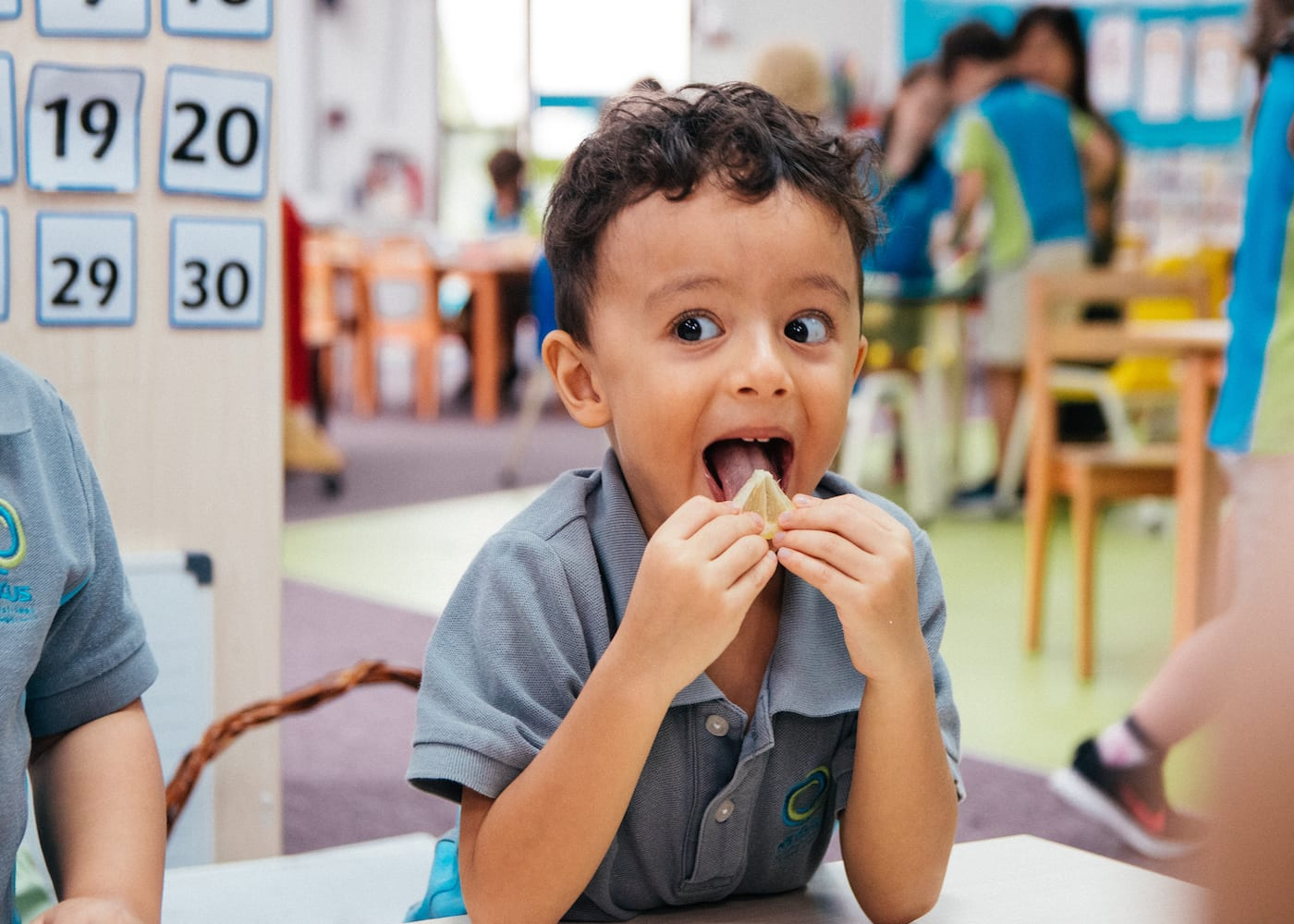 VIDEO: Watch how the kids at Nexus International School learn about the five senses