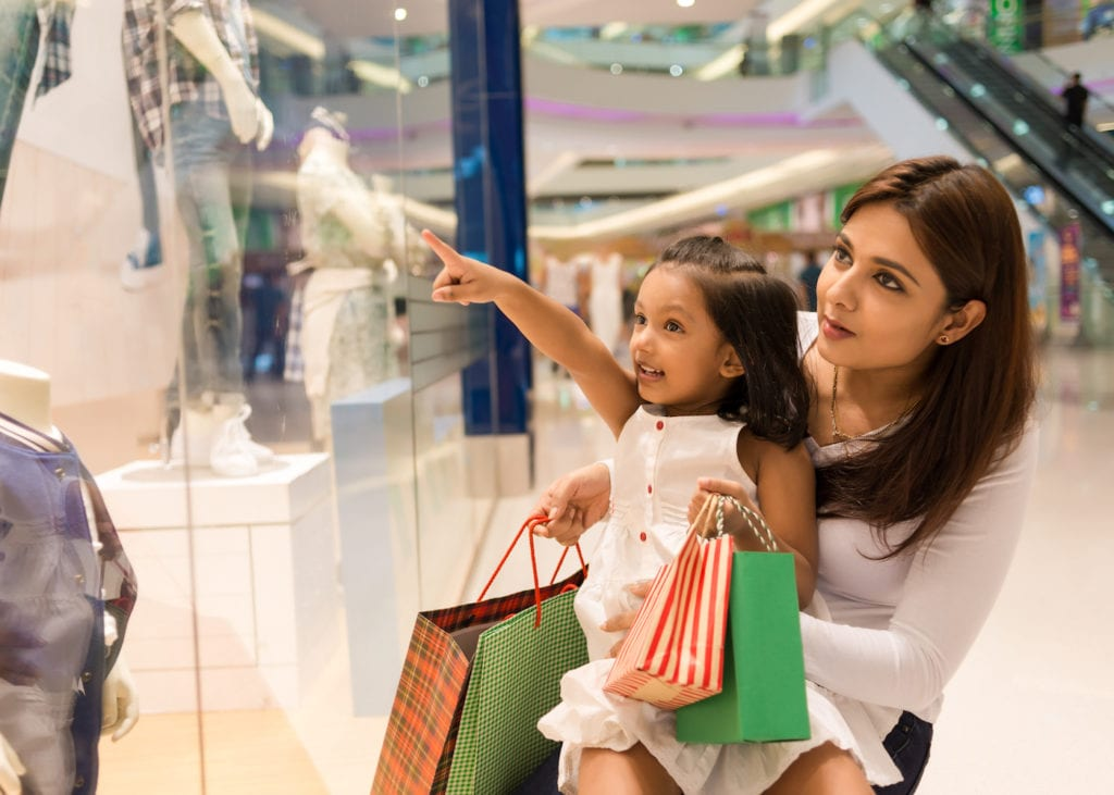 Family-friendly shopping malls in Singapore: enrichment centres, nursing rooms and kids fashion