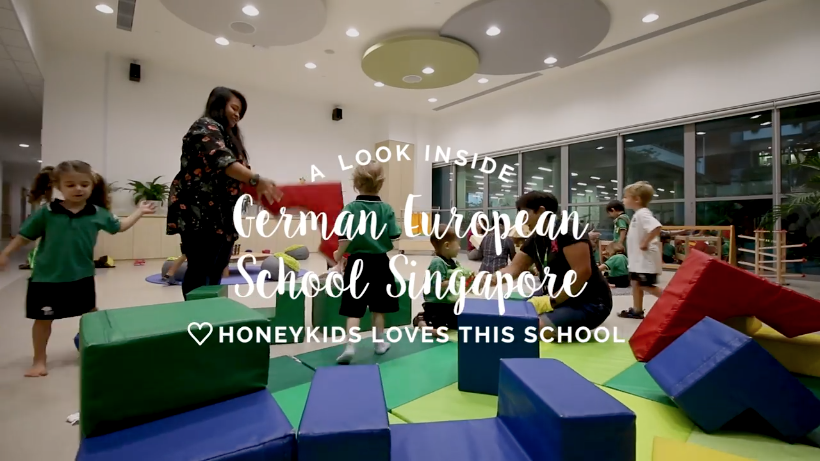 Watch how GESS's pre-school kiddos make the most of their day