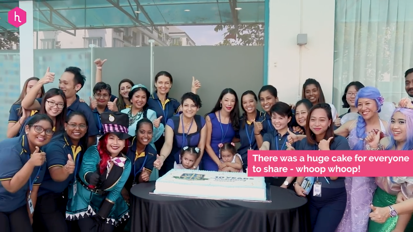 Cheers to 10 years for Integrated International School!